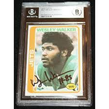 1978 Topps Wesley Walker signed Rookie Card, RC, AUTO,New York ...