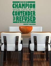 Rocky Balboa Quote Vinyl Wall Vinyl Decor Wall Decal Customvinyldecor Com