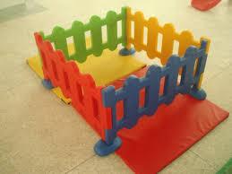 Kids Plastic Fence Ball Pool Fence Kindergarten Plastic Fence