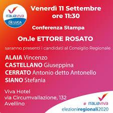 Ettore Rosato ad Avellino presenta i candidati di Italia Viva - Nuova  Irpinia
