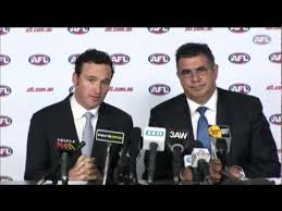 Adrian Anderson quits the AFL - YouTube