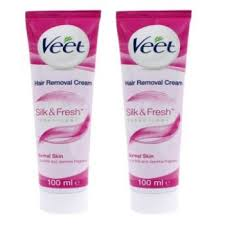 veet face wax strips with easy grip