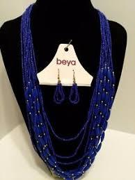 beya necklace earrings new w s 16