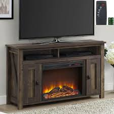 electric fireplace tv stand 56 in