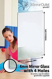 6ft x 4ft 183 x 121cm large mirror