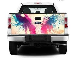 Unicorn Horse Field Rear Window Decal Sticker Pick Up Truck Suv Car 3