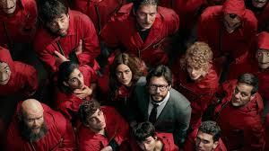 La casa di carta: Netflix rilascia il poster della Parte 4 (con un ...