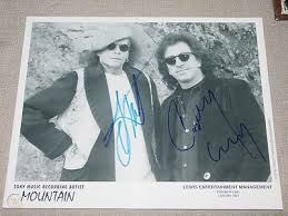 MOUNTAIN (LESLEY WEST & CORKY LAING) AUTOGRAPHED 8X10 PHOTO   #466800965