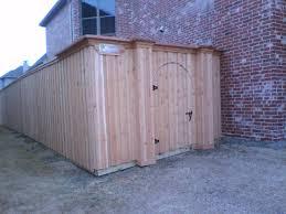 49 Board On Board Cedar Gate With Custom Wood Columns Fences Decks By T Campbell