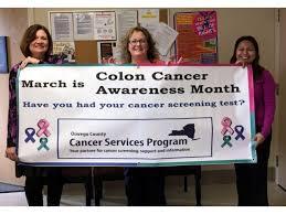 I Heart Oswego - OCO Recognizes 2020 Colorectal Cancer Awareness Month