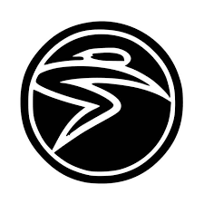 Santa Cruz Bicycles S Man Circle Vinyl Decal Sticker