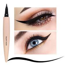 concealer eyeliner lip brush face