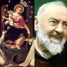 Padre Pio: il Quadro della Madonna del Rosario di Pompei a San Giovanni  Rotondo