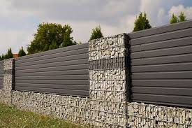 50 Gabion Wall And Fence Ideas Photos