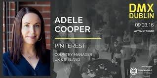 """DMX Dublin on Twitter: """"Adele Cooper is the UK & Ireland Country Manager  for Pinterest. See Adele @DMXDublin #DMXDublin https://t.co/QjUbTdlQUS"""""""