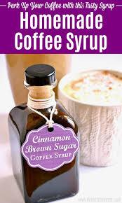 cinnamon brown sugar coffee syrup