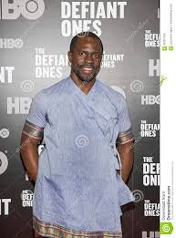 Gbenga Akinnagbe editorial stock photo. Image of arrives - 95201438