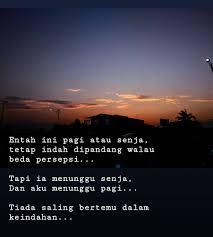 ▷ kata sehari sebatas kata kata jangan menunggu malam kala