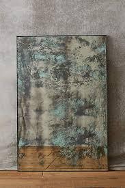 color washed mirror distressed mirror