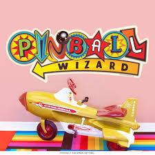 Pinball Wizard Symbols Arcade Wall Decal At Retro Planet