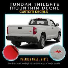 Tailgate Mountain Vinyl Decal Fit 2014 2019 Toyota Tundra Chrome Mirror Ebay