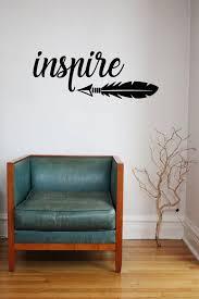 Inspire Arrow Vinyl Wall Decal Sticker Custom Vinyl Wall Etsy