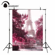 خلفية خلفية للتصوير من Allenjoy ببرج إيفل صورة متحركة للشجرة