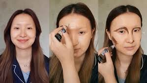 chinese makeup ger transforms into