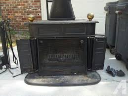 franklin stove fireplace