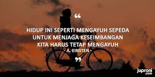 kata kata bijak tentang mengayuh sepeda cocok untuk caption