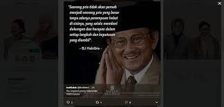 rayakan ulang tahun bj habibie netizen ramaikan hbdhabibie