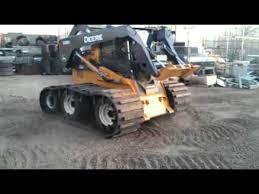 triple axle 32 inch wide skid steer