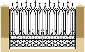 230 Gothic Fence Illustrations Royalty Free Vector Graphics Clip Art Istock
