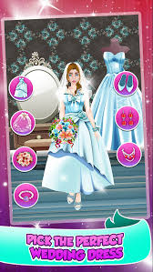 princess wedding salon spa party face