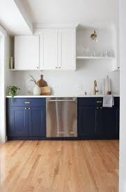 navy blue paint options for kitchen