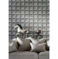 trompe l oeil wood panel wallpaper