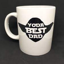 Yoda Best Dad Vinyl Decal Sticker Great For Diy Fathers Day Gifts Unbranded Father S Day Diy Diy Father S Day Gifts Fathers Day Mugs