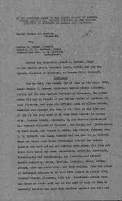 U.S. vs. Walter H. McGee, Wendell Johnson, Clarence Stevens, L. R. Gilbert,  et al.: Complaint | The Pendergast Years