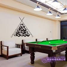 Billiards Wall Sticker Customized Snooker Decal Posters Vinyl Wall Decals Decor Mural Car Windows Billiards Decal Wall Stickers Aliexpress
