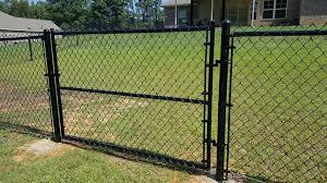 4 Ft Black Vinyl Coated Chain Link A 1 Fence Of Northeast Louisiana Facebook