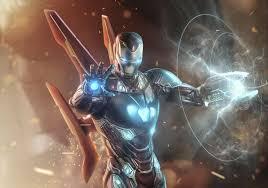 wallpaper iron man avengers 4 hd
