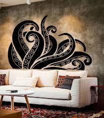 Vinyl Wall Decal Tentacles Octopus Kraken Ocean Monster Stickers 375ig Vinyl Wall Decals Wall Decals Monster Stickers
