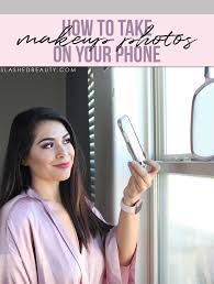5 tips for taking makeup photos on your