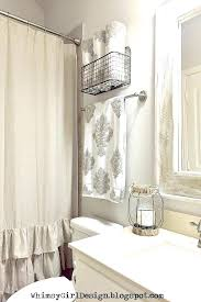 ideas for hanging bathroom towels