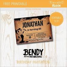 ink machine birthday party