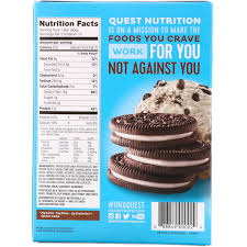quest nutrition protein bar cookies