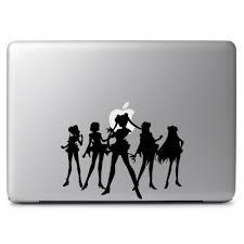 Sailor Moon Sailor Scouts Team Sailor Senshi Group Apple Macbook Air Pro 11 13 15 17 Vinyl Decal Sticker Dreamy Jumpers