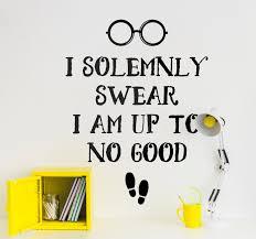 harry potter solemnly swear quote sticker tenstickers