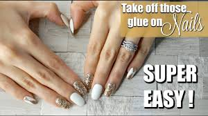 diy quick easy way to take off glue