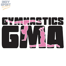 Gymnastics Grandma Multiple Color With Gymnast Silhouettes Car Stickers And Decals